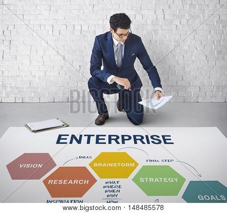 Enterprise Business Campaign Project Task Concept