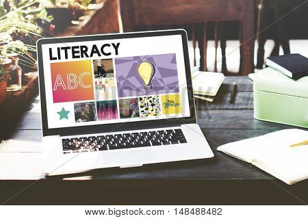 Literacy Education Learning Academic Concept