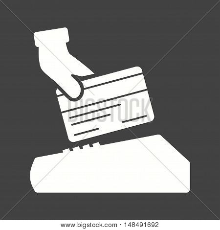 Card, credit, payment icon vector image. Can also be used for currency. Suitable for web apps, mobile apps and print media.
