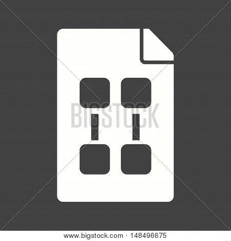 Plan, planning, strategy icon vector image. Can also be used for startup. Suitable for use on web apps, mobile apps and print media.