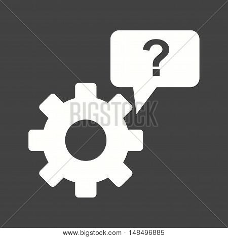 Support, help, technical icon vector image. Can also be used for startup. Suitable for mobile apps, web apps and print media.