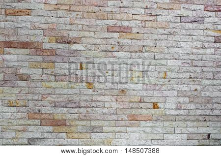 stone brick wall texture beautiful sandstone background the pattern and colors