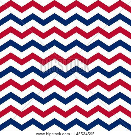Seamless background american patriotic colors. Vector illustration