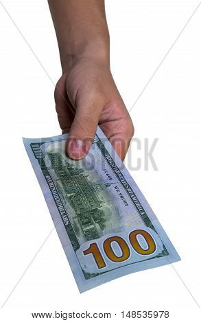 Dollar Bill US american currency one hundred 100