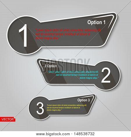 Abstract infographic element set. Creative presentation slide template. Marketing brochure design. Scroll chart web model. Financial figure step points list arrangement. Website data icon. Vector art
