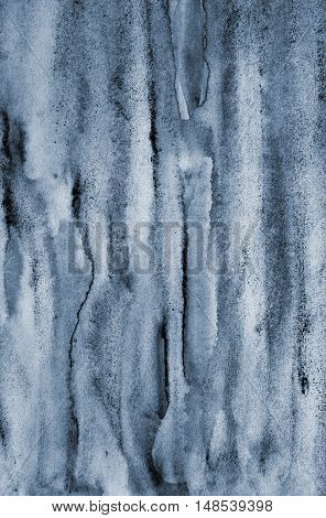 Abstract Grey Watercolor On Paper Texture As Background