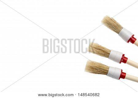 Brush Isolated On A White Background