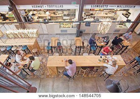 Sant Juan Market Interior