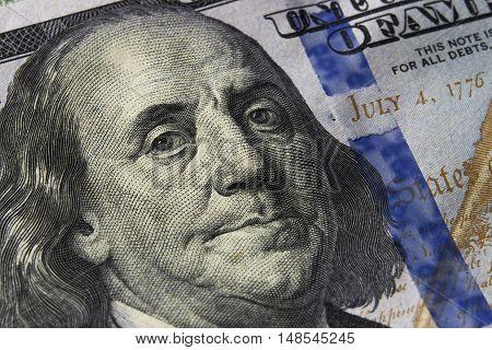 Dollar Bill currency US american bill finance