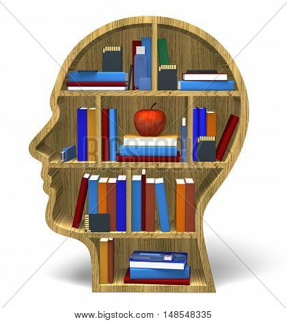 Intelligence 3D face knowledge information learning understanding brain