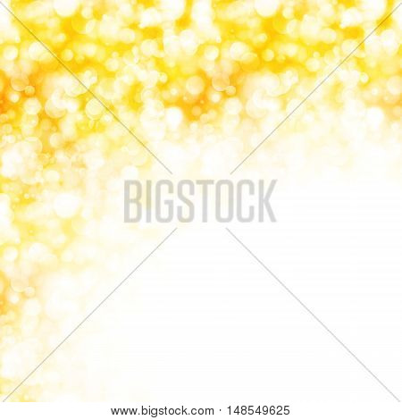 Shiny gold background with sparkling lights, eps10
