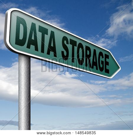 data storage file and document management and database mining   3D, illustration