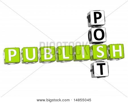 Publish Post Crossword