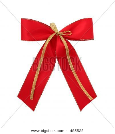 Classic Red Giftbow With Path