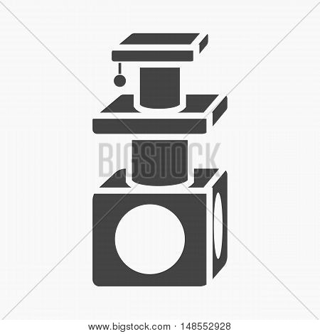 Cat houses icon of vector illustration for web and mobile design