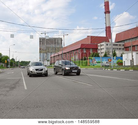 MOSCOW, RUSSIA - 05.29.2015. View Mitino - one of the new districts of Moscow