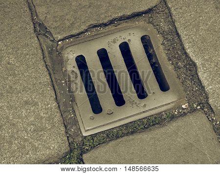 Vintage Looking Manhole