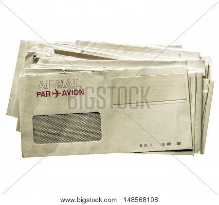 Vintage Looking Letter