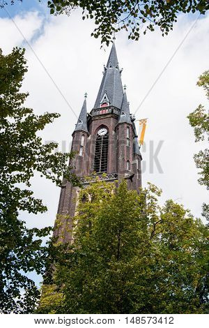 St. Mary's basilica in Kevelaer in Germany