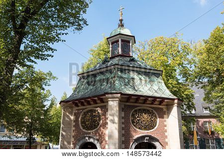 pilgrims St. Mary's chapel in Kevlar Germany