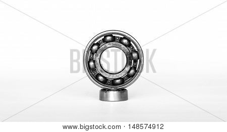 Ball bearings tool isolated on white background