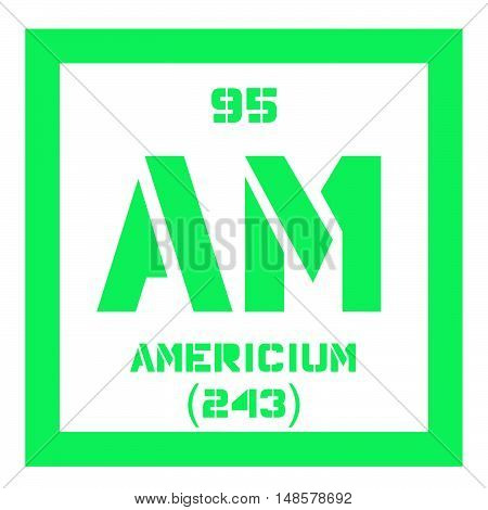 Americium Chemical Element