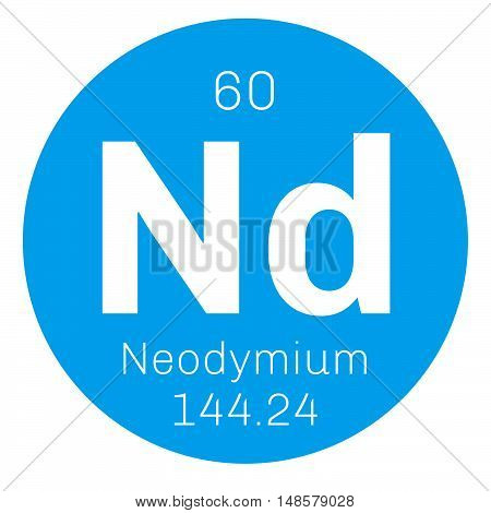 Neodymium Chemical Element
