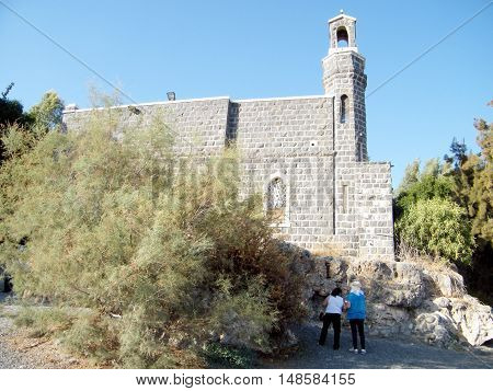 The Church of the Primacy of Peter in Tabgha Israel
