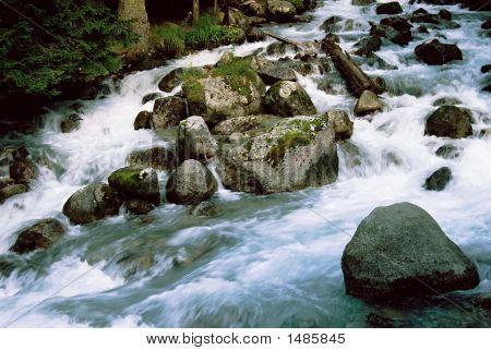 River Ullu-Murudgu.Dombai.Russia.