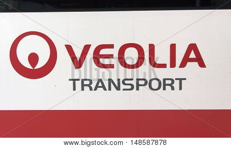 Veolia Transport On A Bus