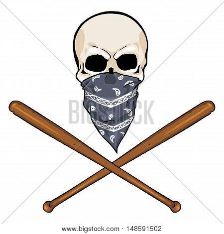 Vector  Character - Skull Vandal