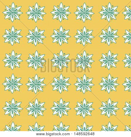 Seamless floral pattern for fabrick or babyroom