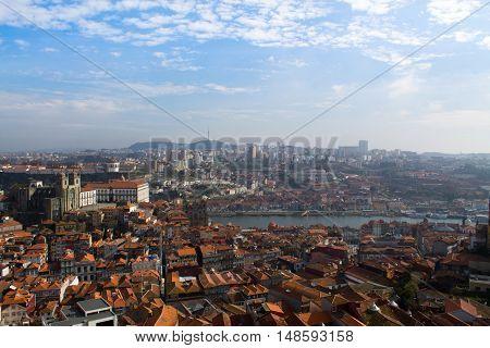 Cidade do Porto. Torre dos Clérigos, Porto, Portugal.