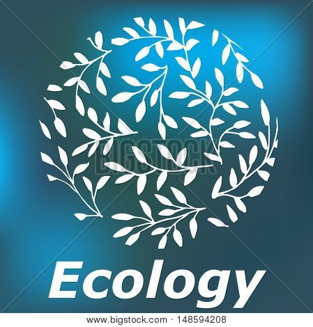 High quality original illustration of Ecology for web design business or other needs