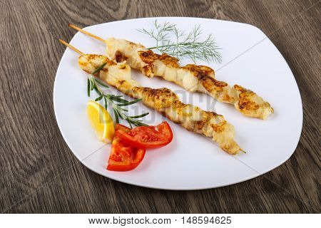 Fish Skewer