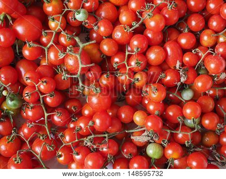 Cherry Tomato Vegetables