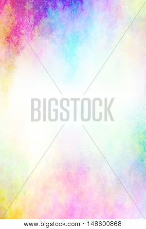 Abstract colorful watercolor background.paper watercolor for text