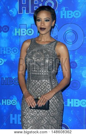 LOS ANGELES - SEP 18:  Jazmyn Simon at the 2016  HBO Emmy After Party at the Pacific Design Center on September 18, 2016 in West Hollywood, CA