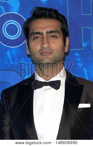 LOS ANGELES - SEP 18:  Kumail Nanjiani at the 2016  HBO Emmy After Party at the Pacific Design Center on September 18, 2016 in West Hollywood, CA