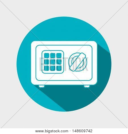 box safety money icon graphic isolated vector illustration eps 10