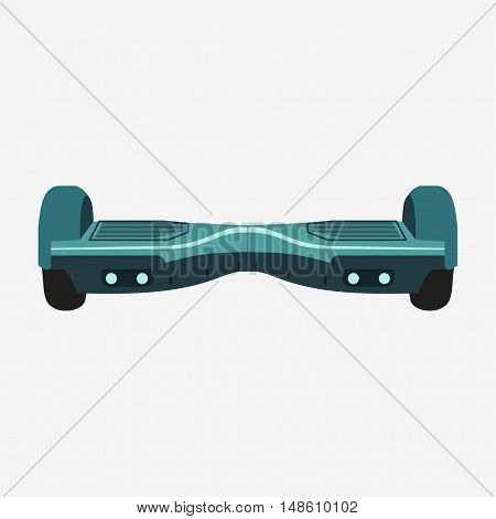 Gyroscooter or Hoverboard, Two Wheels Balance Gyro board, Self-balancing electric scooter. Eco Transport