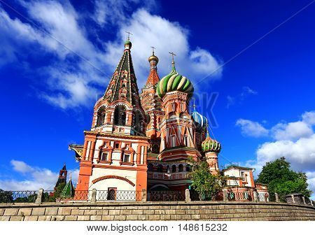 Pokrovsky Cathedrall built in the sixteenth century in the Byzantine style