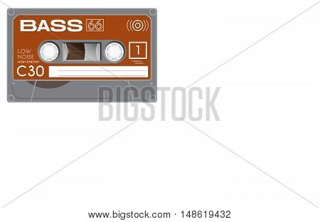 Plastic Audio Cassette Tapes