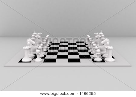 Chess Set White Figures