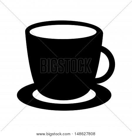 coffee drink cup icon vector illustration design