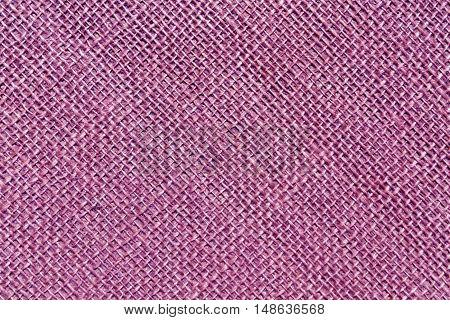 Purple Sack Cloth Texture.