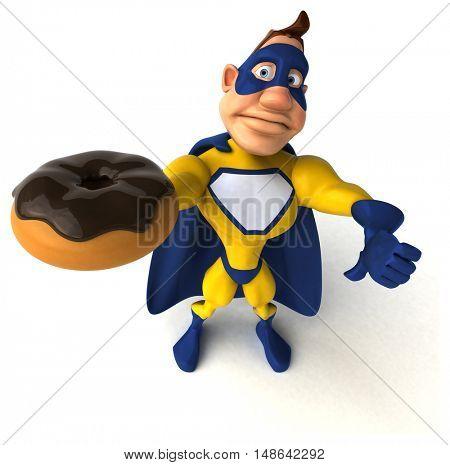 Superhero - 3D Illustration
