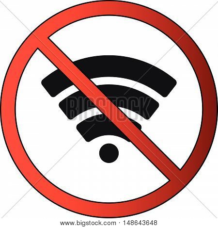 No Signal or Network or Wifi Icon