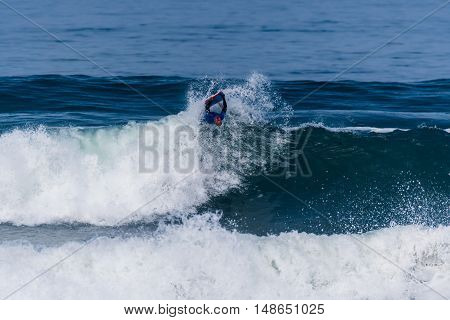 Mike Stewart (haw) During The Viana Pro
