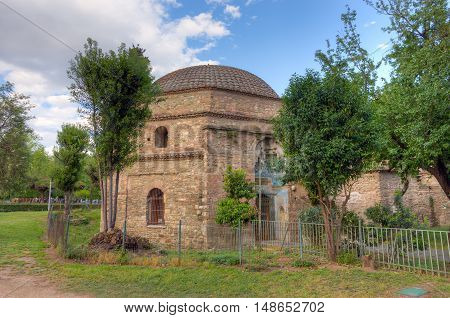 Bey Hamam, Ottoman bathhouse located along Egnatia street in Thessaloniki, Macedonia, Greece.